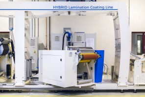 Maan presents HYBRID coating machine in America at LabelExpo